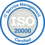 ISO 20000 - IT Service Management Certified